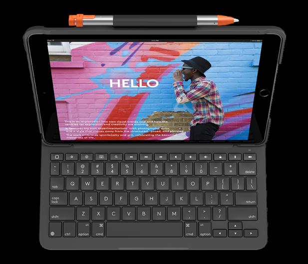 """Logitech Slim Folio iPad 10.2"""" (7. i 8. gen) - 590799 - zdjęcie 2"""