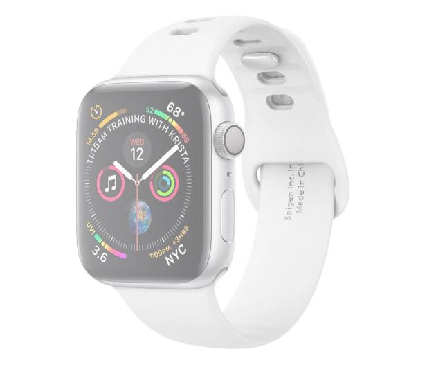 Spigen Pasek Silikonowy Air Fit do Apple Watch biały - 527196 - zdjęcie