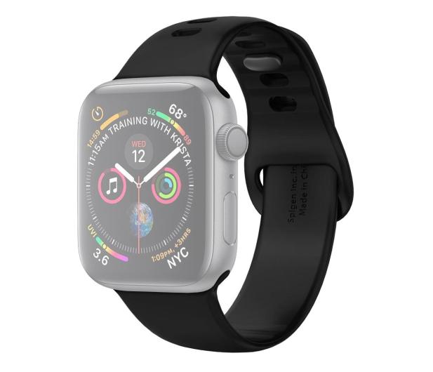 Spigen Pasek Silikonowy Air Fit do Apple Watch czarny - 527194 - zdjęcie