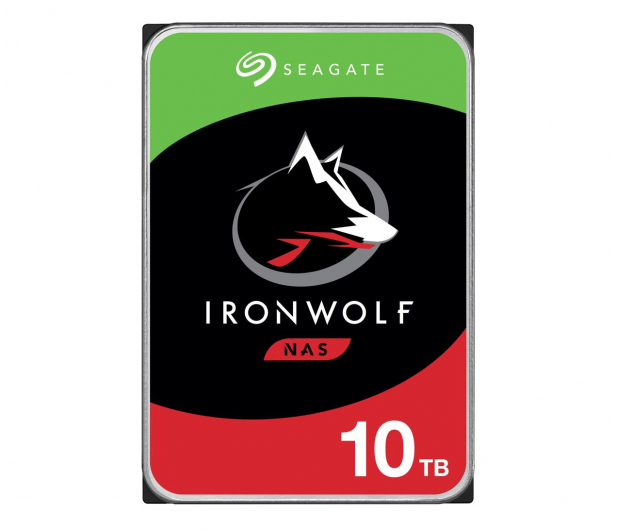Seagate IRONWOLF CMR 10TB 7200obr. 256MB - 320832 - zdjęcie