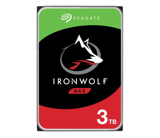 Seagate IRONWOLF CMR 3TB 5900obr. 64MB  - 337229 - zdjęcie