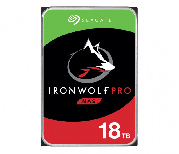 Seagate IRONWOLF PRO CMR 18TB 7200obr. 256MB - 588070 - zdjęcie