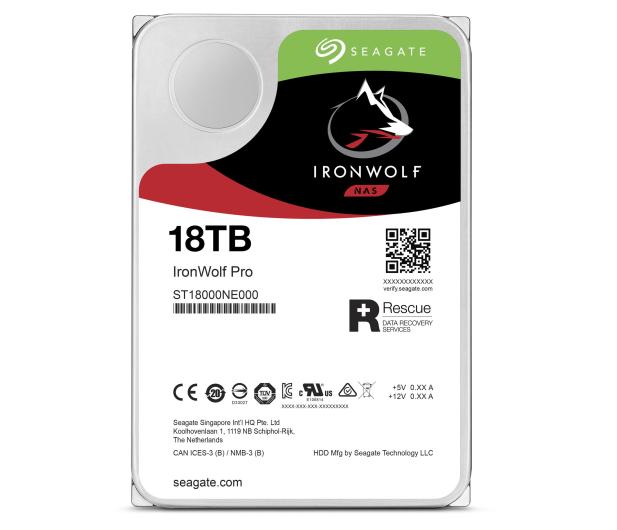 Seagate IRONWOLF PRO CMR 18TB 7200obr. 256MB - 588070 - zdjęcie 2
