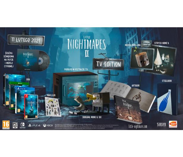 Switch Little Nightmares 2 Collectors Edition - 593290 - zdjęcie 2