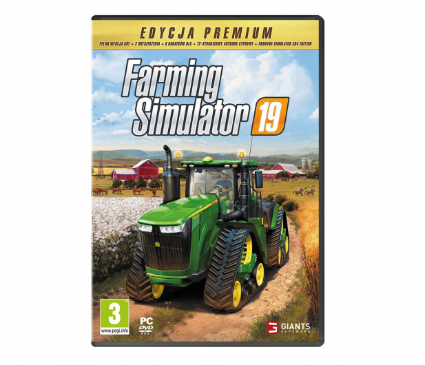 PC Farming Simulator 19 - Premium Edition  - 593306 - zdjęcie