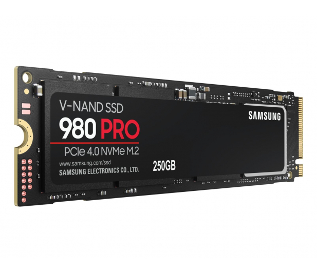 Samsung 250GB M.2 PCIe Gen4 NVMe 980 PRO - 593194 - zdjęcie 3