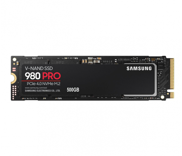 Samsung 500GB M.2 PCIe Gen4 NVMe 980 PRO - 593197 - zdjęcie
