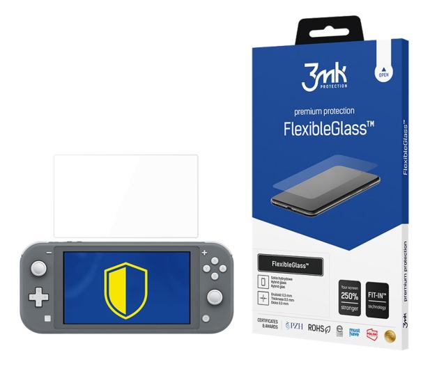 3mk Szkło Flexible Glass do Nintendo Switch Lite - 568096 - zdjęcie