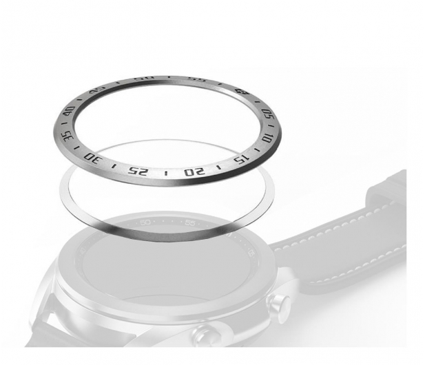 Ringke Bezel Styling do Samsung Galaxy Watch 3 srebrny - 591547 - zdjęcie