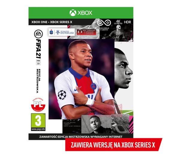 Xbox FIFA 21 : EDYCJA MISTRZOWSKA  - 574691 - zdjęcie