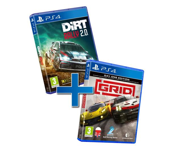 PlayStation Racing Pack GRID & DiRT Rally 2.0 - 593636 - zdjęcie