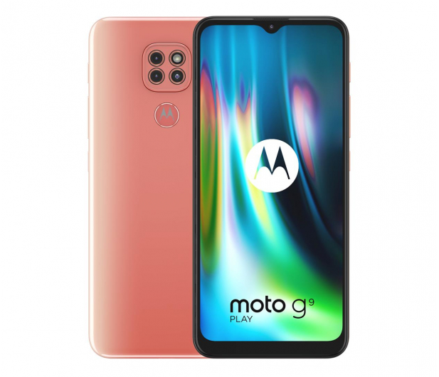 Motorola Moto G9 Play 4/64GB Purple Rose - 587357 - zdjęcie