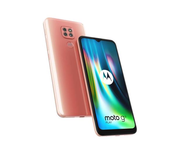 Motorola Moto G9 Play 4/64GB Purple Rose - 587357 - zdjęcie 6