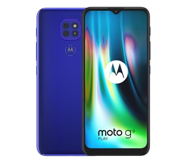 Motorola Moto G9 Play 4/64GB Sapphire Blue - 586278 - zdjęcie