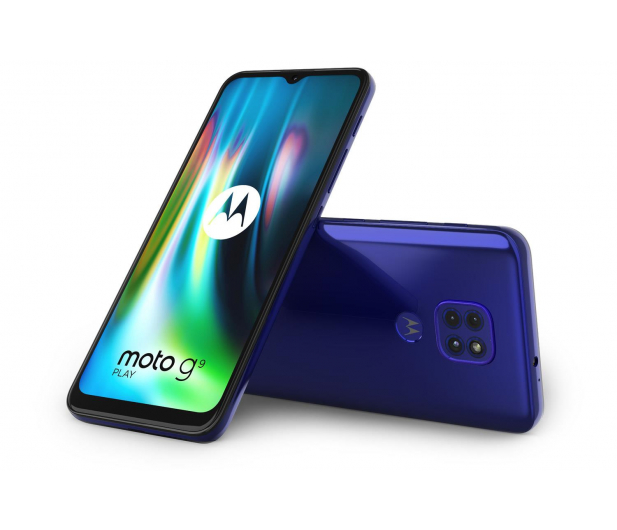 Motorola Moto G9 Play 4/64GB Sapphire Blue + 64GB - 586279 - zdjęcie 6