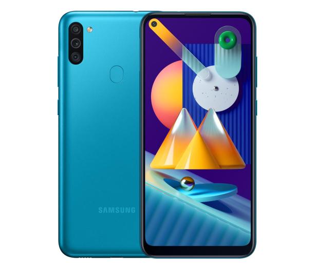 Samsung Galaxy M11 SM-M115F niebieski - 594349 - zdjęcie