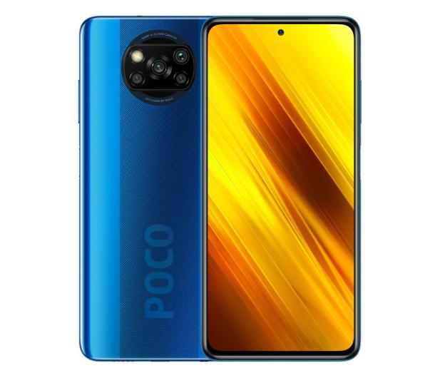 Xiaomi POCO X3 NFC 6/64GB Cobalt Blue - 590132 - zdjęcie