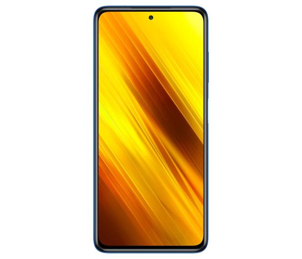 Xiaomi POCO X3 NFC 6/64GB Cobalt Blue - 590132 - zdjęcie 3