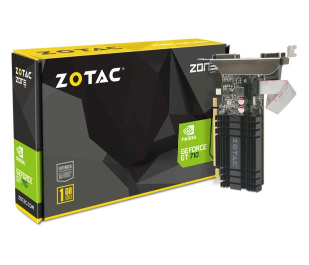 Zotac GeForce GT 710 ZONE Edition 1GB DDR3 - 589072 - zdjęcie