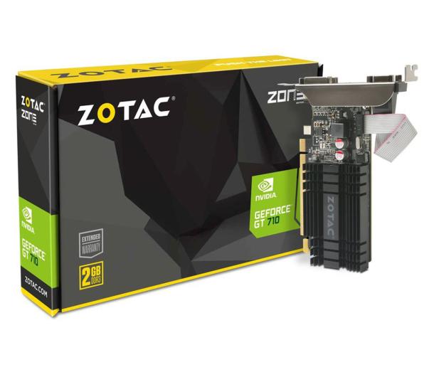 Zotac GeForce GT 710 ZONE Edition 2GB DDR3 - 589079 - zdjęcie