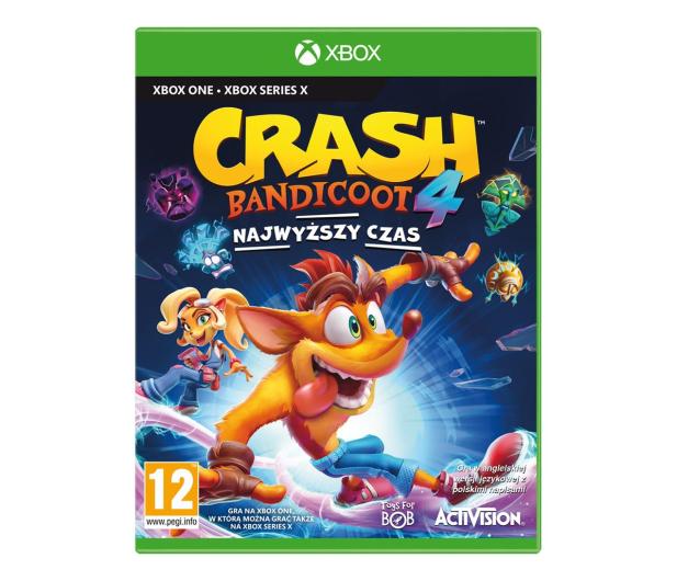 Xbox Crash Bandicoot™ 4: Najwyższy Czas - 575322 - zdjęcie