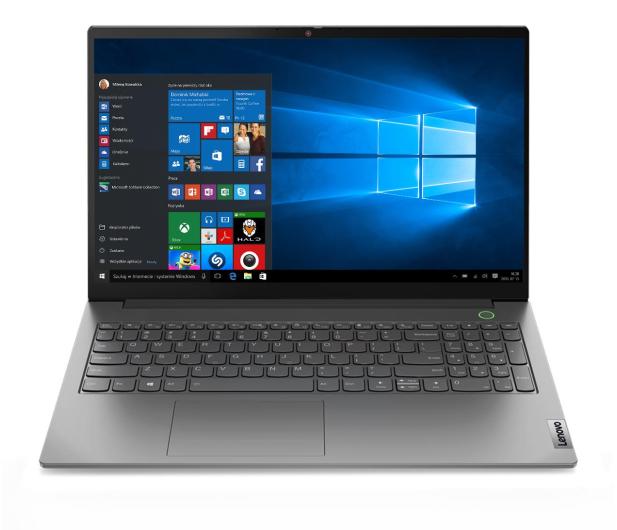 Lenovo ThinkBook 15 Ryzen 5/8GB/512/Win10P - 623293 - zdjęcie