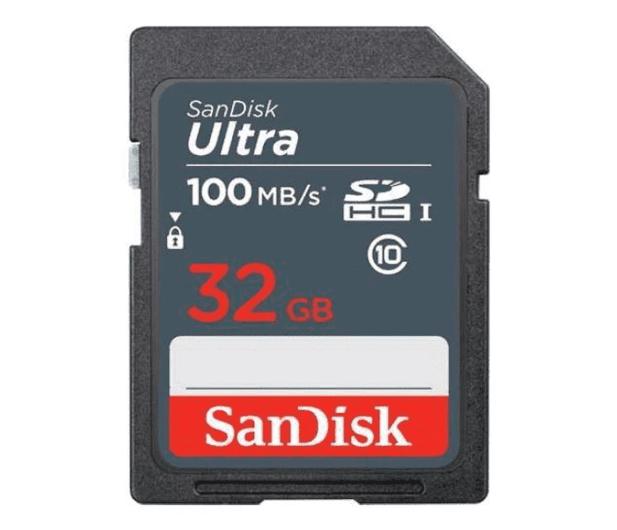 SanDisk 32GB SDHC Ultra C10 100MB/s UHS-I - 617433 - zdjęcie