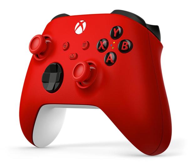 Microsoft Xbox Series Controller - Pulse Red - 620548 - zdjęcie 3