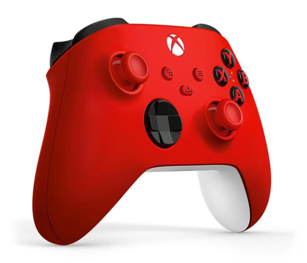 Microsoft Xbox Series Controller - Pulse Red - 620548 - zdjęcie 2