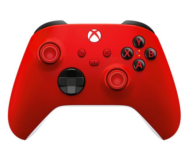 Microsoft Xbox Series Controller - Pulse Red - 620548 - zdjęcie