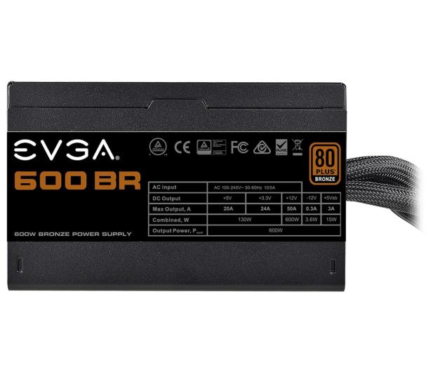 EVGA BR 600W 80 Plus Bronze - 619092 - zdjęcie 4