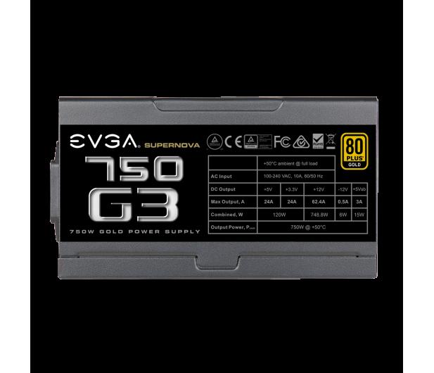EVGA SuperNOVA G3 750W 80 Plus Gold - 619079 - zdjęcie 3