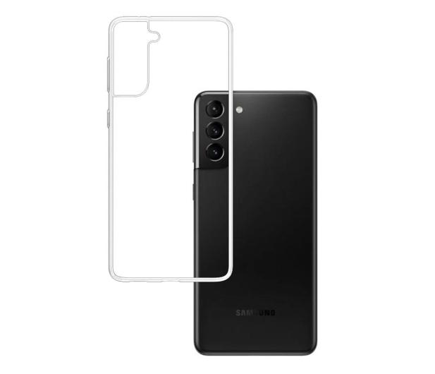 3mk Clear Case do Samsung Galaxy S21+ - 619107 - zdjęcie