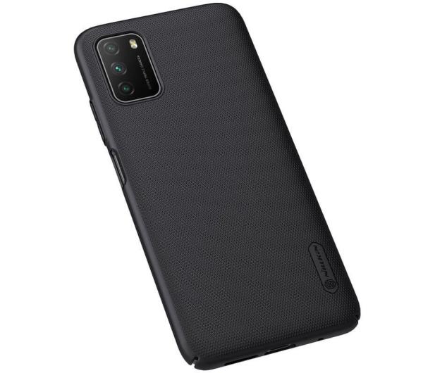 Nillkin Super Frosted Shield do Xiaomi POCO M3 czarny - 619582 - zdjęcie 3