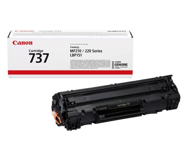 Canon CRG-737 black 2400str. - 214242 - zdjęcie