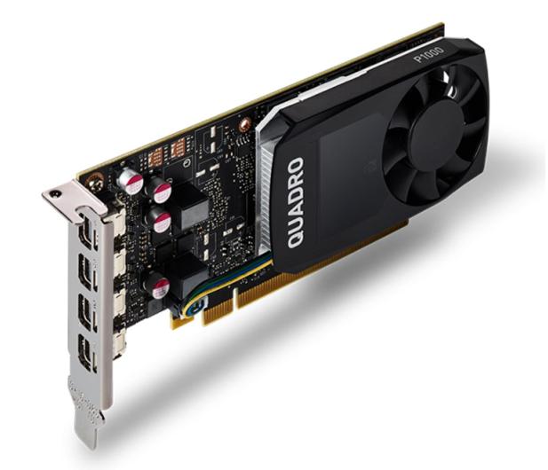 PNY Quadro P1000 V2 4GB GDDR5 - 623617 - zdjęcie