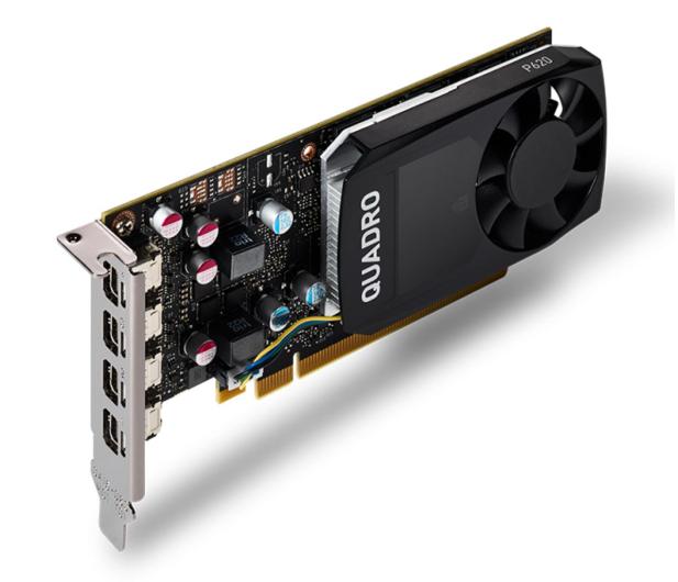 PNY Quadro P620 V2 2GB GDDR5 - 623622 - zdjęcie