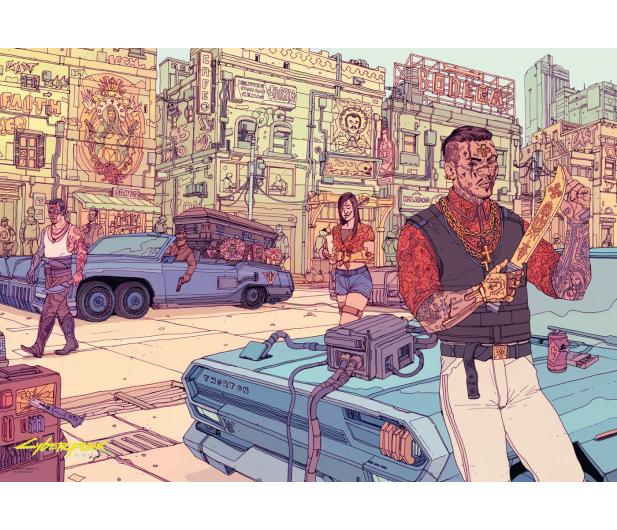 CENEGA Cyberpunk 2077: Valentinos puzzles 1500 - 623322 - zdjęcie 3