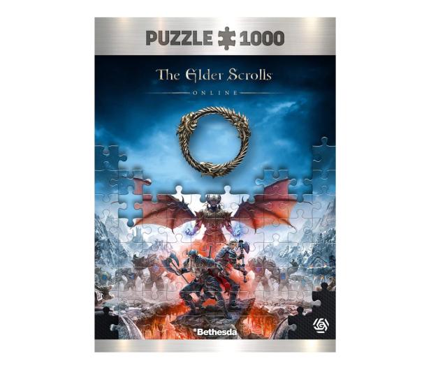 CENEGA Elder Scrolls: Vista of Greymoor Puzzles 1000 - 623323 - zdjęcie