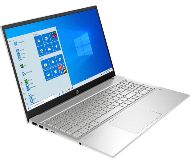 HP Pavilion 15 i5-1135G7/16GB/512/Win10 MX350 Silver - 621448 - zdjęcie 3