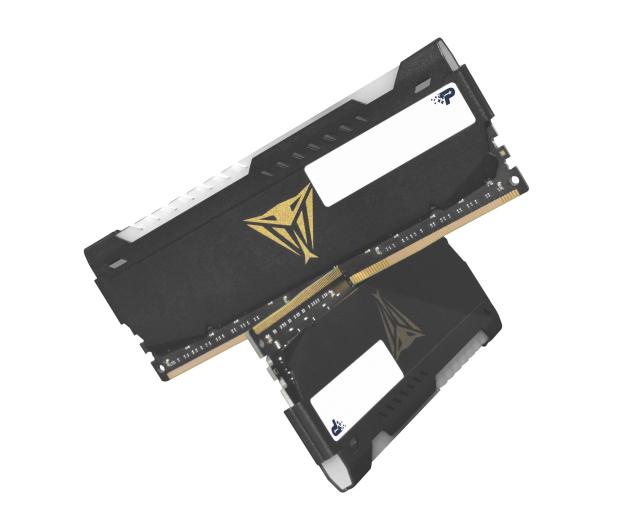 Patriot 16GB (2x8GB) 3200MHz CL18 Viper Steel RGB - 621622 - zdjęcie 2