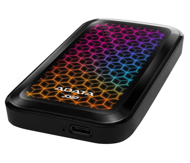 ADATA SE770G 512GB USB 3.2 Gen. 2 Czarny - 620538 - zdjęcie 2