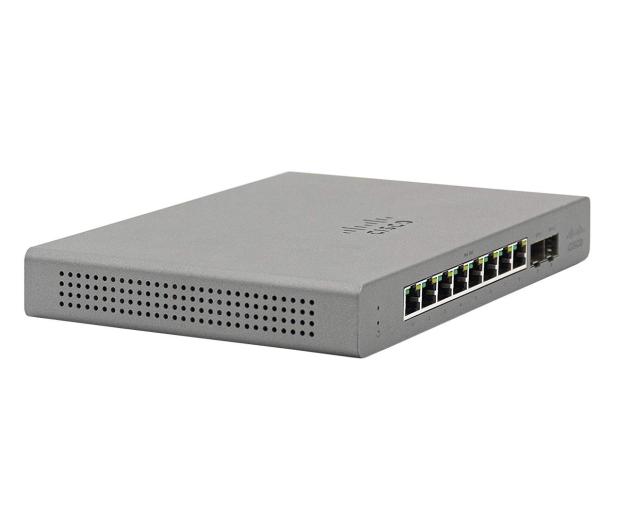 Cisco Meraki Go GS110-8P-HW-EU PoE (8x1000Mbit, 2xSFP) - 615018 - zdjęcie 2