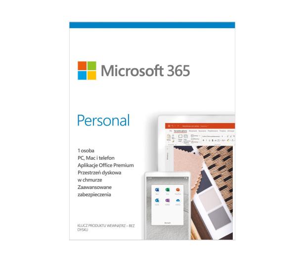 Microsoft 365 Personal | zakup z komputerem + 3m. - 624097 - zdjęcie 2