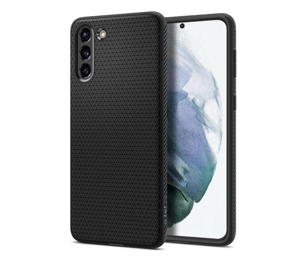 Spigen Liquid Air do Samsung Galaxy S21+ black  - 622337 - zdjęcie