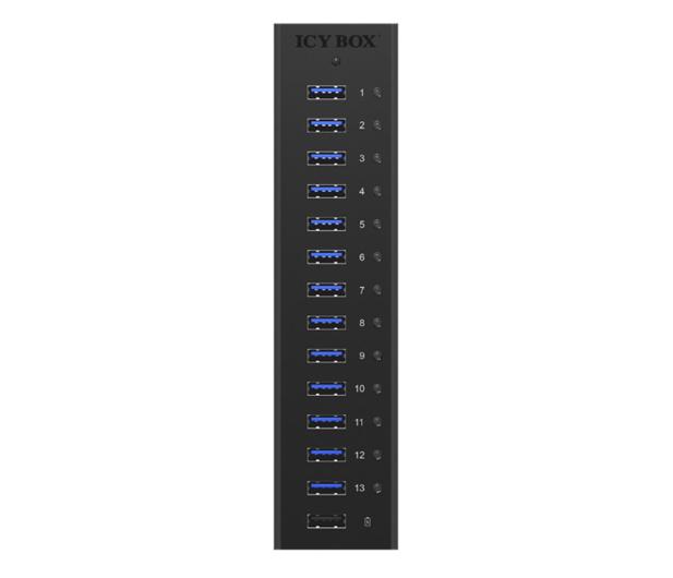 ICY BOX HUB USB 3.0 - 13x USB 3.0 - 622621 - zdjęcie