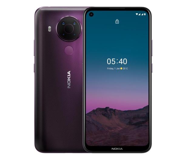 Nokia 5.4 Dual SIM 4/64GB purpurowy - 624113 - zdjęcie