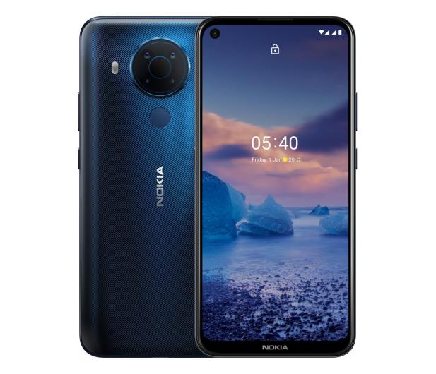 Nokia 5.4 Dual SIM 4/64GB niebieski - 624112 - zdjęcie