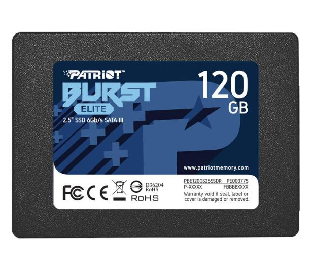 "Patriot 120GB 2,5"" SATA SSD BURST ELITE - 622632 - zdjęcie"