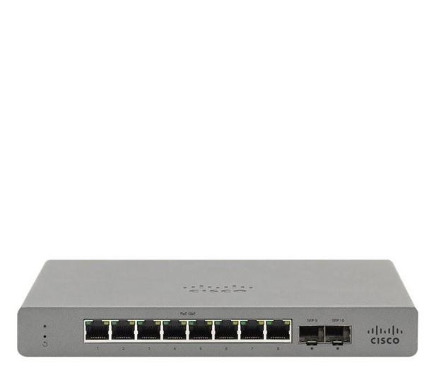 Cisco Meraki Go GS110-8-HW-EU (8x1000Mbit, 2xSFP) - 613500 - zdjęcie
